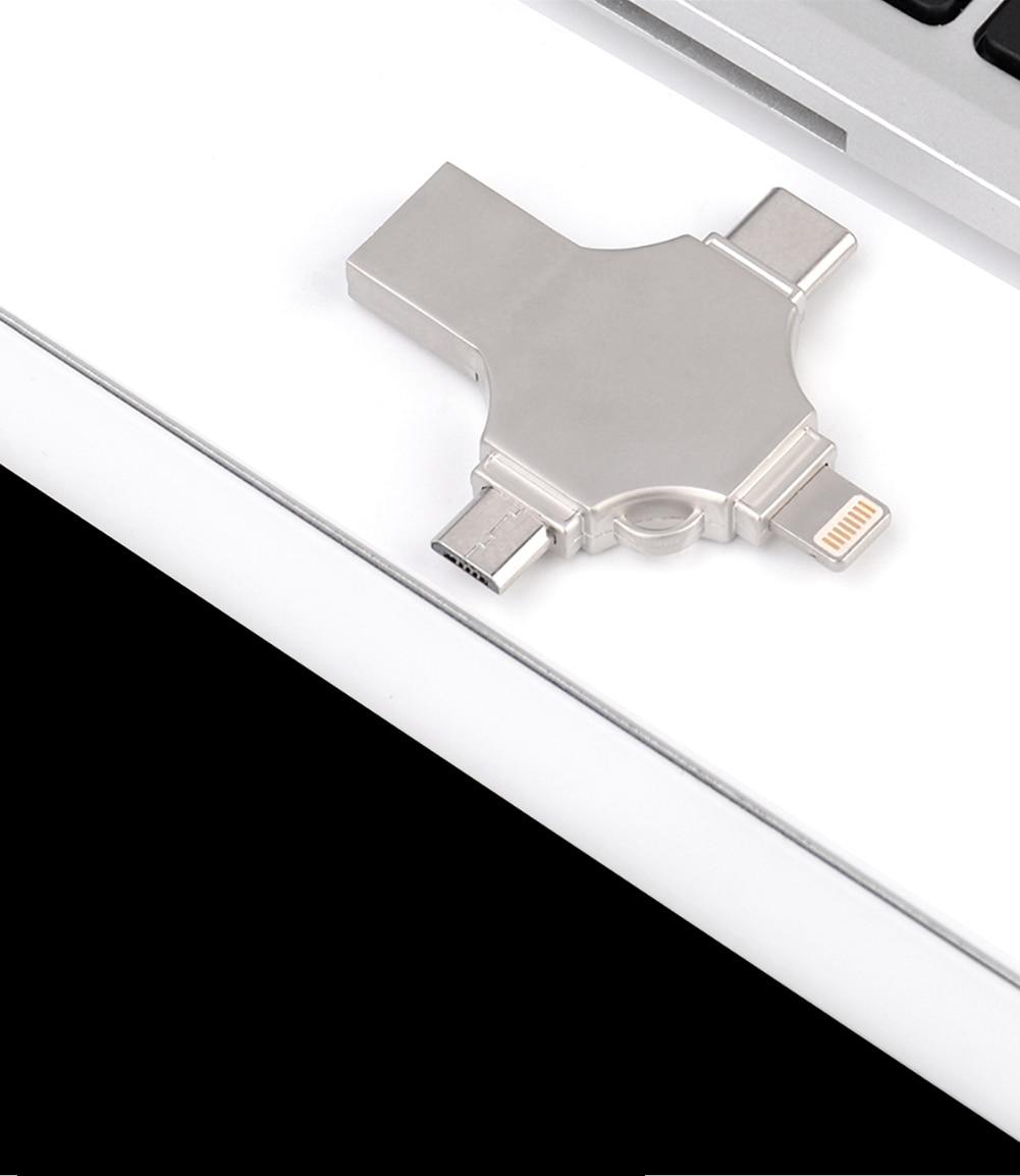 Universal 4-in-1 OTG Flash Drive