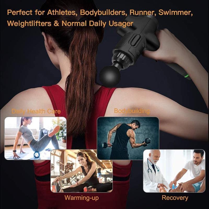 LCD Display Pain Relief Massage Gun