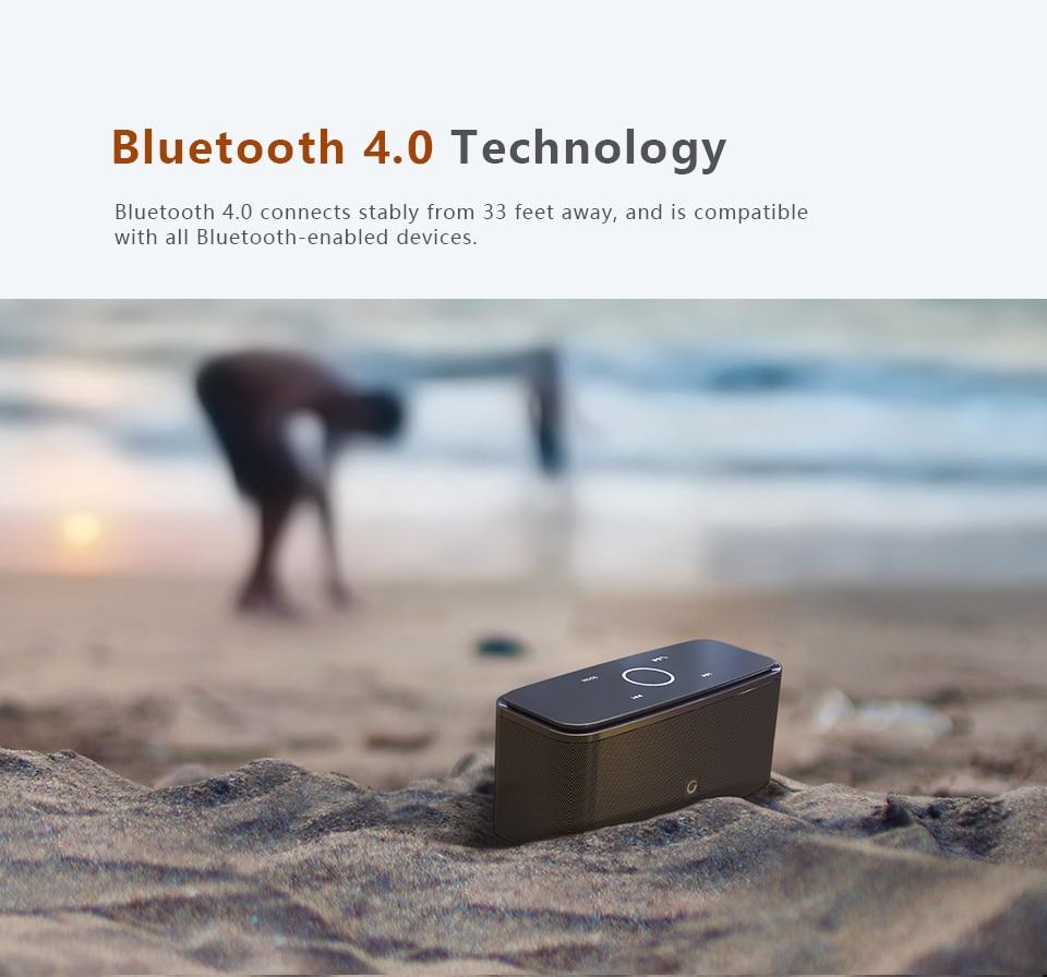 Wireless Touch Control Bluetooth Speaker
