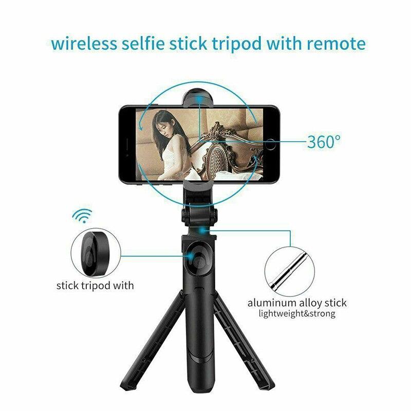 Adjustable Bluetooth Selfie Stick with Remote Control